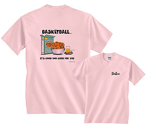 It's Good & Good For You Cereal Box Basketball T-Shirt