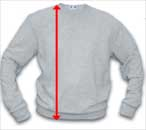 Crew Sweatshirt Length