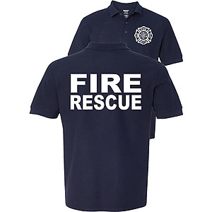 Fire Rescue Polo Firefighter