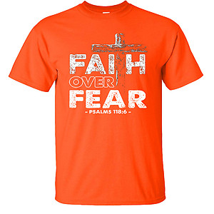 Faith Over Fear Christian Psalms 118:6