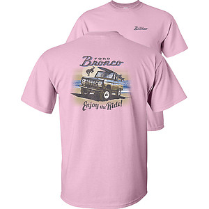 Ford Bronco Enjoy The Ride vintage classic Adult Unisex