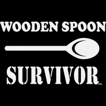Wooden Spoon Survivor Saying
