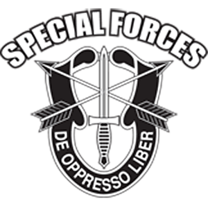 US Army Special Forces De Oppresso Liber Chest Print