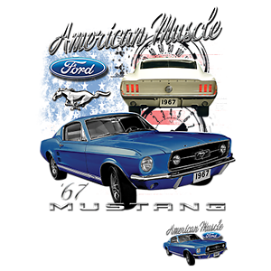 American Muscle 67 Mustang Ford